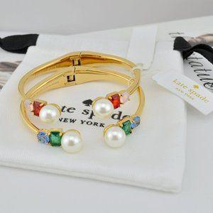Kate Spade Open Pearl Bracelet
